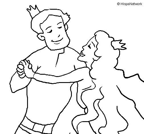 Dibuix de Ball de prínceps per Pintar on-line