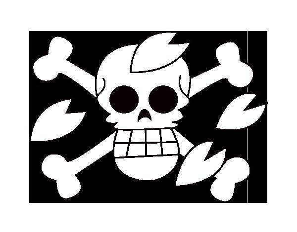 Dibuix de Bandera de Tony per Pintar on-line