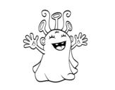 Dibujo de Extraterrestre simpàtic