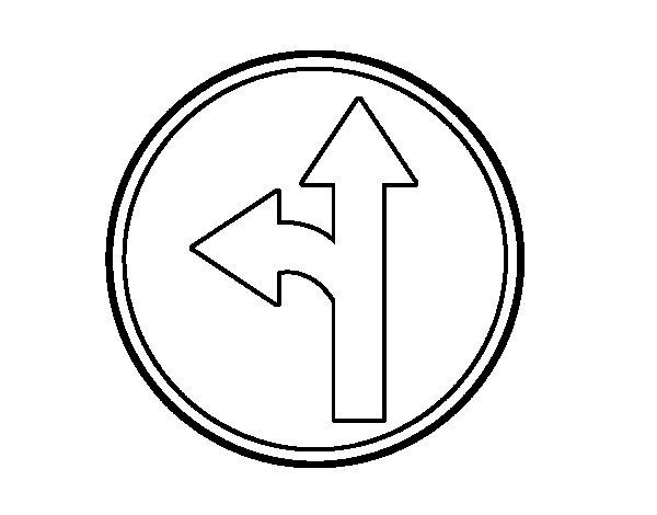 Dibuix de Úniques direccions 1 per Pintar on-line
