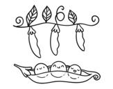 Dibuix de Uns pèsols per pintar