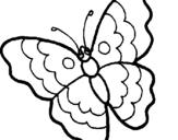 Dibuix Papallona pintat per pepi