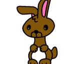 Dibuix Art el conill pintat per estela