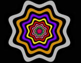 Dibuix Mandala 46 pintat per super guay¨¨
