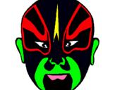 Dibuix Lluitador pintat per arnau