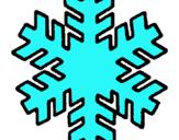 Dibuix Floquet de neu pintat per estel.p.f