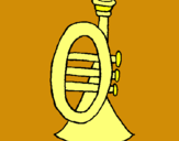 Dibuix Trompeta pintat per ingrid