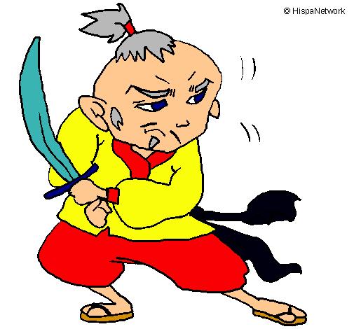 Guerrer amb espasa