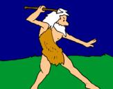 Dibuix Caçador pintat per danei