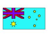Dibuix Austràlia pintat per berta   pedrós
