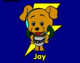 Dibuix Jay pintat per alejandro