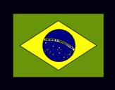 Dibuix Brasil pintat per guilerme braga Arcas