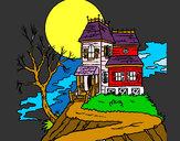 Dibuix Casa encantada pintat per fabraespe