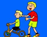 Dibuix Tricicle pintat per Mar