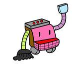 Dibuix Robot de neteja pintat per Adria