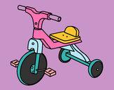 Dibuix Tricicle infantil pintat per Judelia