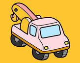 Dibuix Grua de vehicles pintat per ALEIX_G
