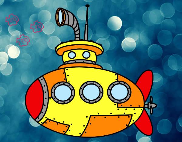 Resultat d'imatges de submari dibuix
