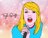 Taylor Swift cantant