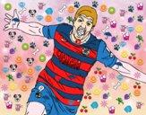 Suárez celebrant un gol