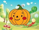 Carbassa de Halloween simpàtica