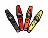 Dibuix Retoladors pintat per betinho