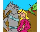 Sant Jordi y la princesa