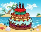 Pastís d'aniversari