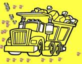 Camió carregat