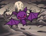 Un ratpenat de Halloween