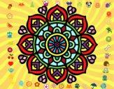 Mandala per la concentració mental
