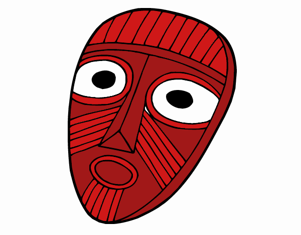 Dibuix Màscara sorpresa pintat per tinny2712