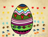 Ou de Pasqua per a decorar
