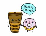 Cafè i donut