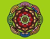 Mandala per a la relaxació mental