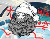 Cara de Santa Claus per Nadal