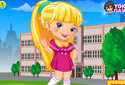 Jugar a El meu uniforme escolar de la categoría Jocs de nenes