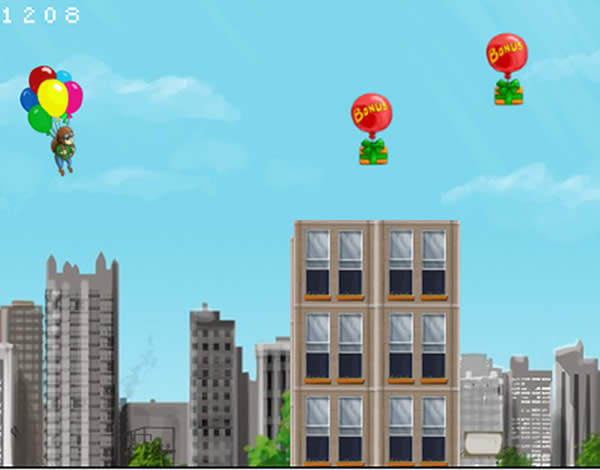 Volant amb globus