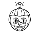 Dibuix de Balloon Boy de Five Nights at Freddy's per pintar