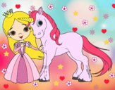 Princesa i unicorn