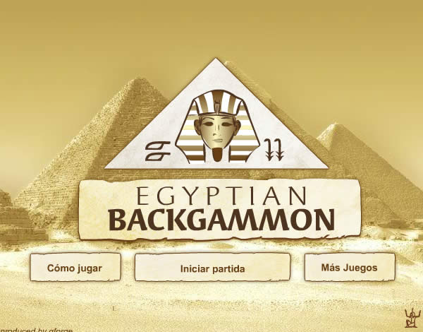 Backgammon egipci